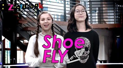 Shoe Fly Challenge 👟 Bizaardvark Disney Channel