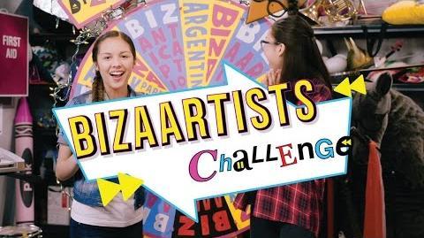 BizaArtists Challenge Bizaardvark Disney Channel