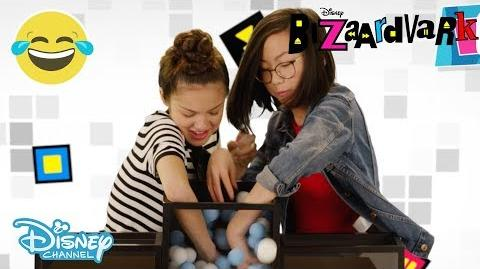 Bizaardvark The Ball Challenge ft. Frankie & Paige Disney Channel UK