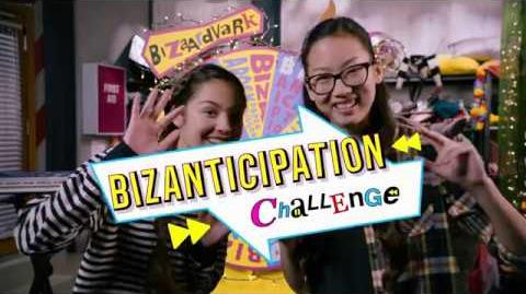 BizaAnticipation Bizaardvark Challenge Disney Channel