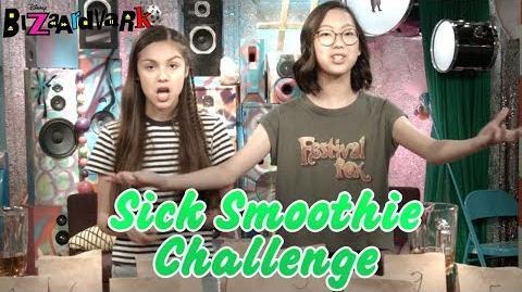 Sick Smoothie Challenge Bizaardvark Disney Channel