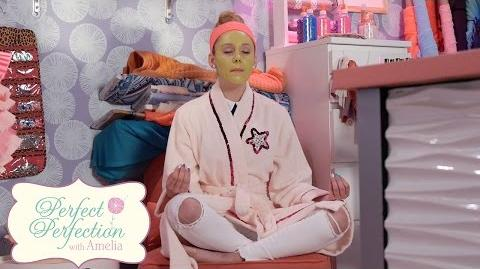 Face Mask Perfect Perfection with Amelia Disney Channel