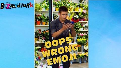 Oops Wrong Emoji Bizaardvark Disney Channel