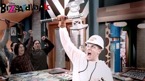 Destroy Hot Chocolate Bar Bizaardvark Disney Channel