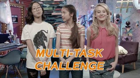 Multi-Task Challenge with Amelia Bizaardvark Disney Channel