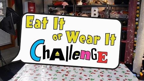 Eat It or Wear It Challenge Bizaardvark Disney Channel