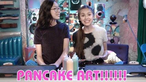 Pancake Art Challenge Bizaardvark Disney Channel