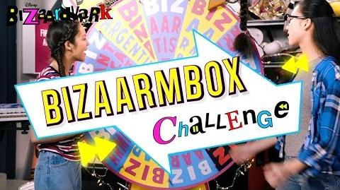 BizaArmBox Challenge Bizaardvark Disney Channel