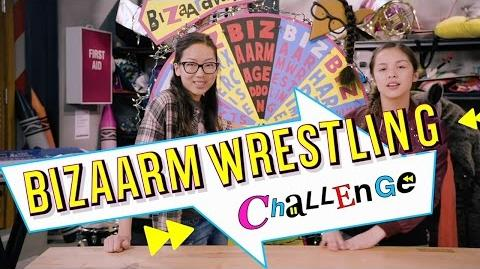 BizArm Wrestling Bizaardvark Shorts Disney Channel