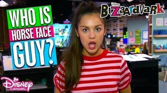 🎬Behind the Scenes Who is Horse Face Guy? Bizaardvark Disney Channel Africa