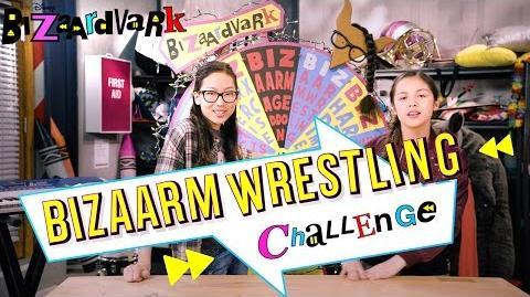 BizArm Wrestling Bizzardvark Challenge Disney Channel