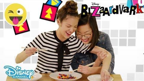 Bizaardvark The Chopstick Challenge 😂 Disney Channel UK