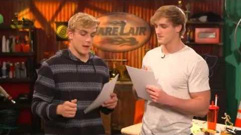 Bizzardvark - Jake and Logan Paul Test