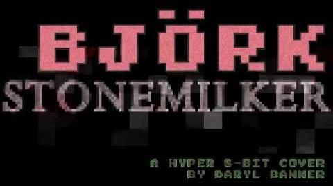 """Björk """"STONEMILKER"""" Nintendo Hyper 8-Bit by Daryl Banner-0"""