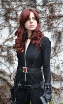 Black widow natasha romanoff cosplay wip by stephanie dono-d5z4st1
