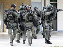 SWAT police officers