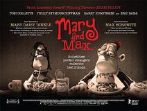 Mary & Max British Poster