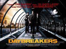 Daybreakers Britse Plakkaat
