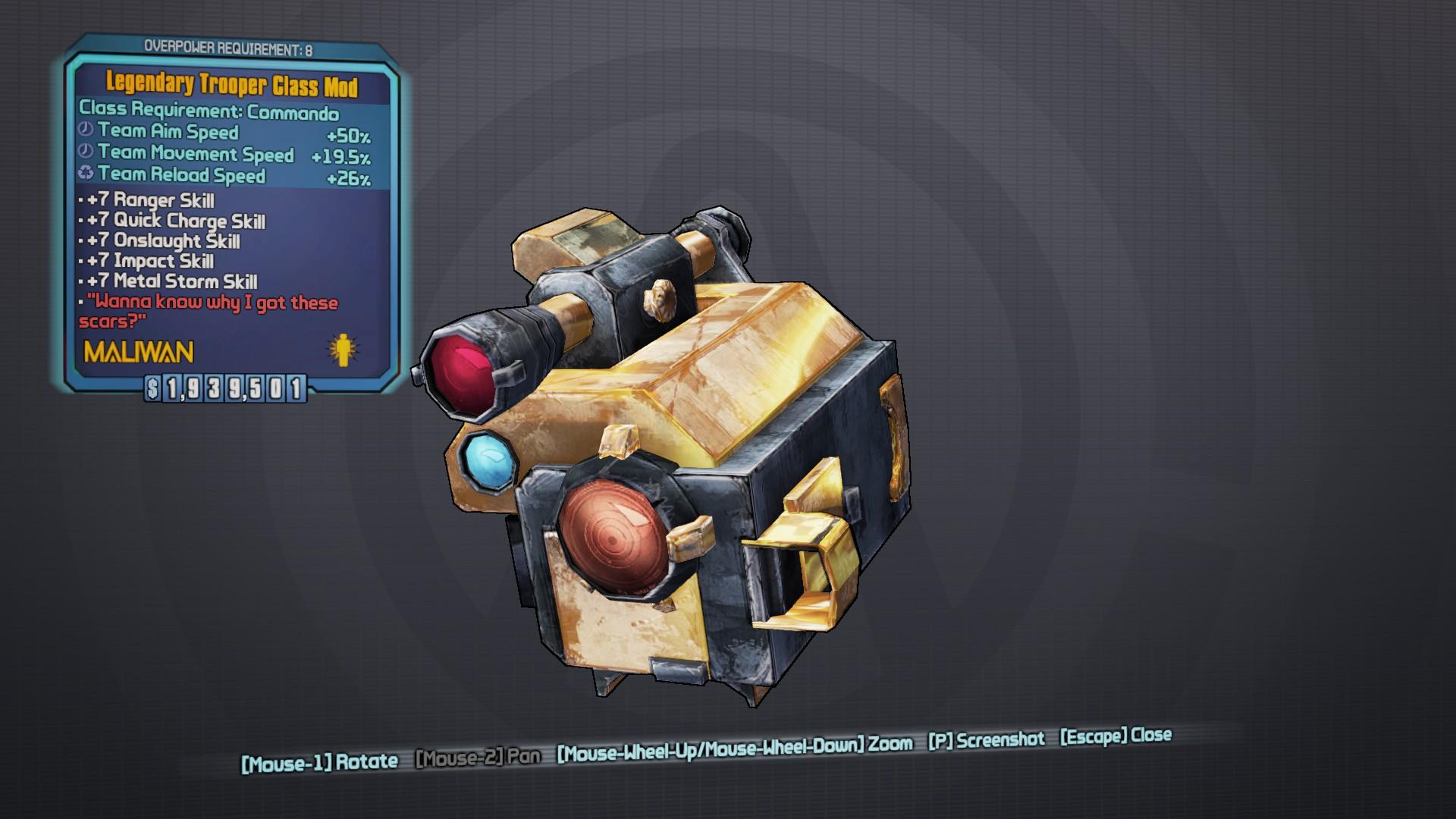 Legendary Trooper | BL2reborn Wiki | FANDOM powered by Wikia