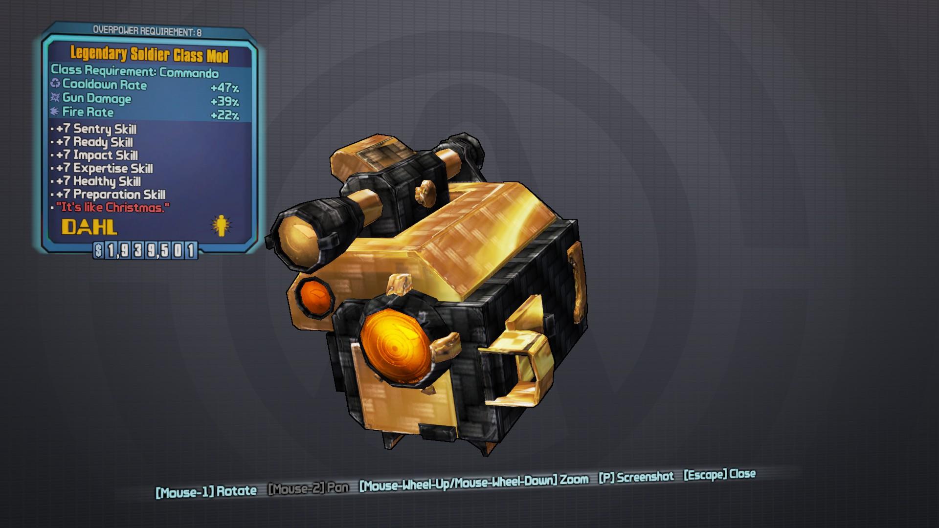 Legendary Soldier | BL2reborn Wiki | FANDOM powered by Wikia