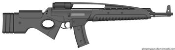 Archonian Heavy Rifle