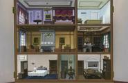 Kleines Puppenhaus des Anwesens