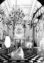 Baron Kelvins Anwesen Esszimmer