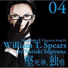 Black Butler II Character Song Vol. 04 William