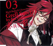 Black Butler II Character Song Vol. 03 Grell