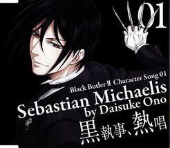 Black Butler II Character Song Vol.01Sebastian Michaelis