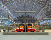 St Pancras Real in London