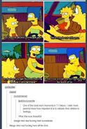 Marge and Lisa