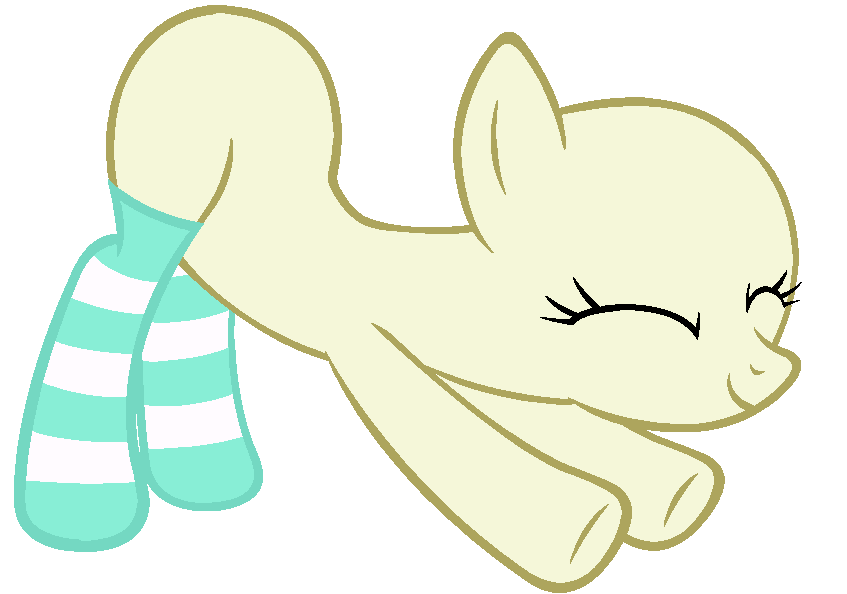 Image My Little Pony Base 27 Stretching In Socks By Drugzrbad