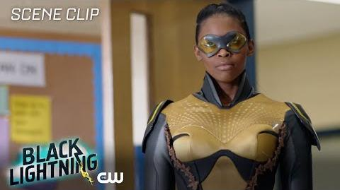 Black Lightning The Resurrection and The Light The Book of Pain Scene The CW