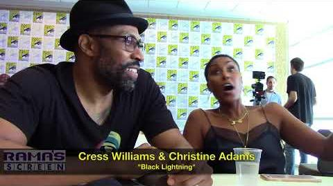 Cress Williams and Christine Adams Talk 'BLACK LIGHTNING' Season 2 at SDCC 2018