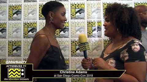 Christine Adams (Black Lightning) San Diego Comic-Con 2018