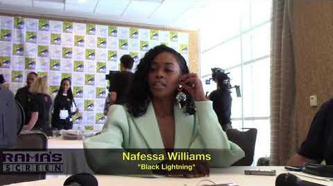 Nafessa Williams Talks 'BLACK LIGHTNING' Season 2 at SDCC 2018