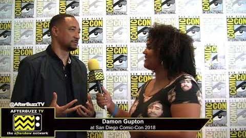 Damon Gupton (Black Lightning) San Diego Comic-Con 2018