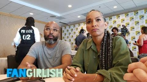 COMIC CON 2018 SALIM AND MARA BROCK AKIL TALK WHY 'BLACK LIGHTNING'