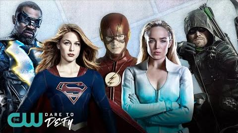 Heroes And Villains The CW