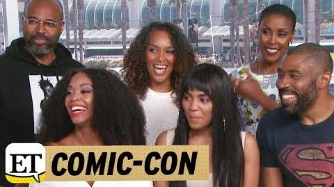 EXCLUSIVE Live With The Cast Of 'Black Lightning'