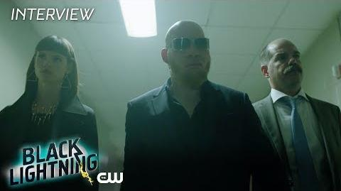 "Black Lightning Marvin 'Krondon' Jones III ""Tobias Whale"" Interview The CW"