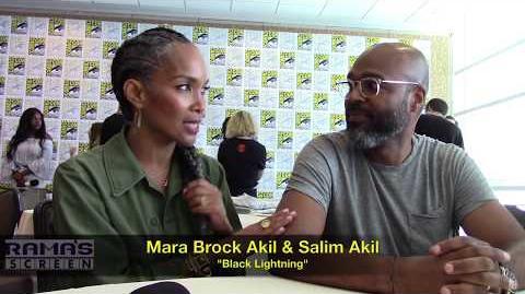 Exec-Producers Mara Brock Akil & Salim Akil Talk 'BLACK LIGHTNING' Season 2 at SDCC 2018