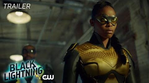 Black Lightning Black Jesus The Book of Crucifixion Trailer The CW
