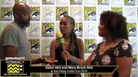 Salim Akil and Mara Brock Akil (Black Lightning) San Diego Comic-Con 2018
