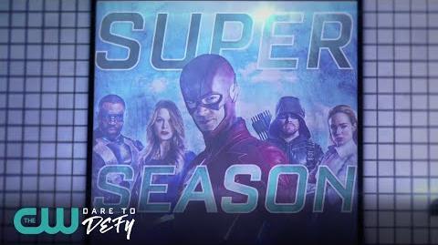 Superhero Subway Sizzle The CW