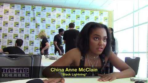 China Anne McClain Talks 'BLACK LIGHTNING' Season 2 at SDCC 2018