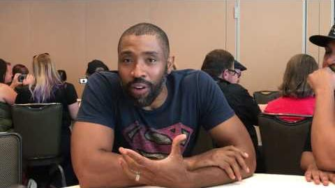 Interview with Cress Williams of Black Lightning - Comic Con 2017