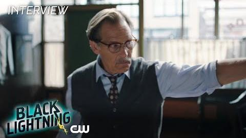 "Black Lightning James Remar ""Peter Gambi"" Interview The CW"