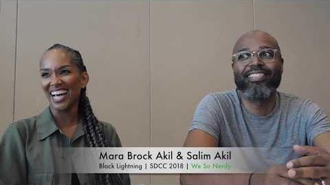 WSN INTERVIEWS Mara Brock Akil & Salim Akil at SDCC 2018